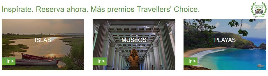 TripAdvisor destinos