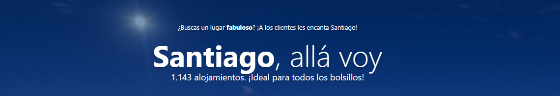 Conoce Santiago con Booking