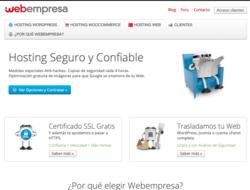 Cupón y Descuento Webempresa 2019
